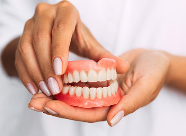 >Complete And Partial Dentures